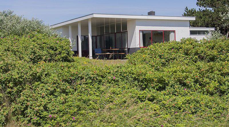 Bungalow Brandt-Corstius Molenaar ontworpen door Rietveld. Bron: wikipedia